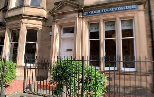 View of the front of the Edinburgh Iyengar Yoga Centre